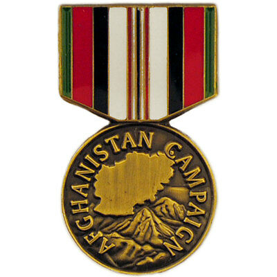 AFGHANISTAN CAMPAIGN ANODIZED mini miniature medal - $16 95