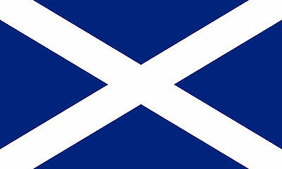 Scotland National Flag 5x3ft