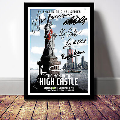 The Man In The High Castle Cast Signed Autograph Print Poster Photo Show Season