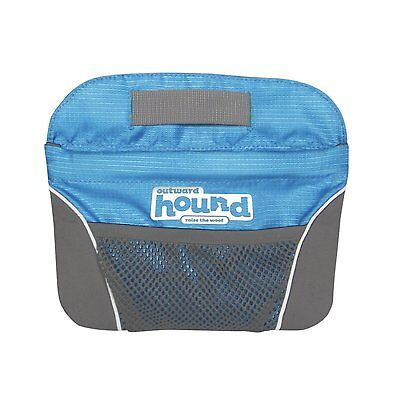 Outward Hound Dog Treat Pouch and Ball Bag with Belt Clip Blue