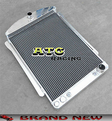 56mm Aluminum Radiator for CHEVY CAR STREET ROD AUTO 1940-1941 40 41