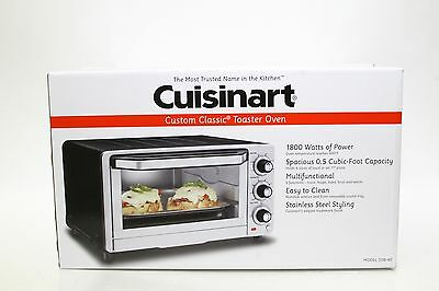 New! Cuisinart Tob-40 Toaster Oven Broiler