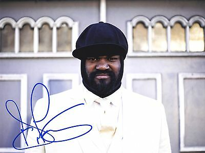 Gregory Porter Very Rare Amazing In Person Signed W/proof Coa
