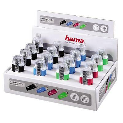 Hama Usb 2.0 Sd And Micro Sd Card Reader 54133 (Listing Is For 1 Item Not Box)