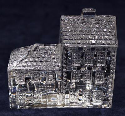 Waterford Crystal LISMORE, Figurine Paperweight, Village HOTEL