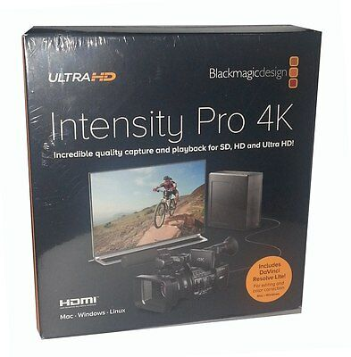 Blackmagic Design Intensity Pro 4K - Capture Card - BINTSPRO-4K  Stock Miami