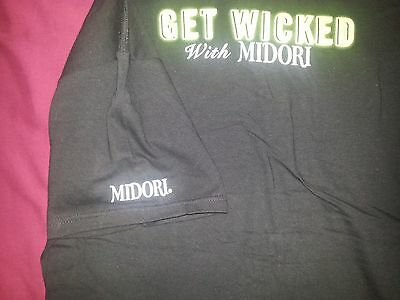 Get Wicked Midori  T Shirt  Medium  Free Shipping Usa