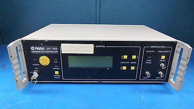 Polytec OFV3000 Vibrometer Controller with Key
