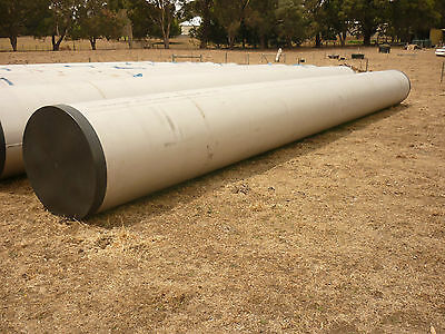 Stainless Steel Pipe 1016 Mm Diameter Gr 316 With 12Mm Wall New 11.5 Metres Long