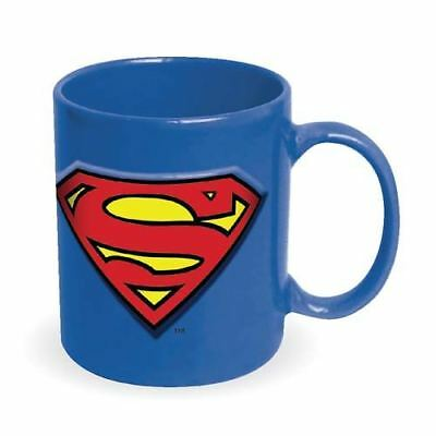 Superman Embossed Logo Jumbo 20 oz Mug