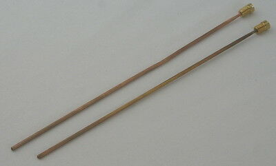 Individual Bronze Gong Rods - Pairs (without mounting bracket) 205 & 195mm