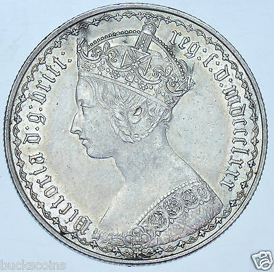 1880 Florin British Silver Coin From Victoria Gef
