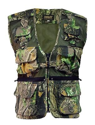 Stormkloth Men's Camouflage Waist Coat Fishing|Hunting|Outdoor Multi Pocket Vest