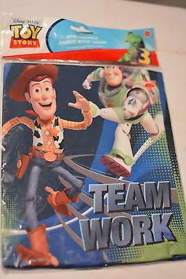"Disney Pixar TOY STORY Stretchable 8"" x 10"" BOOK COVER NEW"