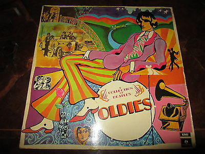 THE BEATLES COLLECTION OLDIES Italy 1970 STEREO Pressing LP Laminated Cover