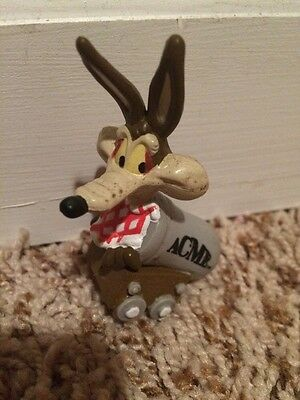 WB Wile E. Coyote Looney Tunes Acme Canon PVC Figure/Cake Topper 1994  APPLAUSE