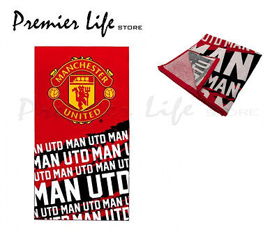 Manchester United F.C Beach Bath Towel - Latest Impact Design