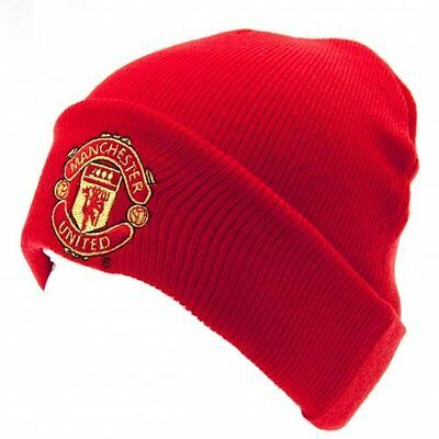 Manchester United F.C. Knitted Hat TU Red