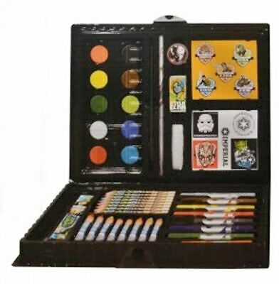Character Star Wars 'Rebels' 52 Piece Art Case Stationery