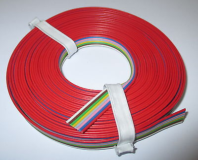 [1m = Litz wire 8-fold Cable band 5 m NEW