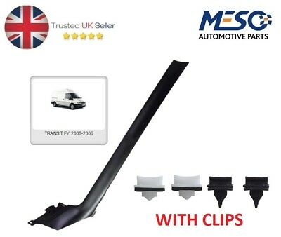 Windshield Windscreen Moulding Trim Fits Ford Transit Mk6 2000-06 Left Pas Side