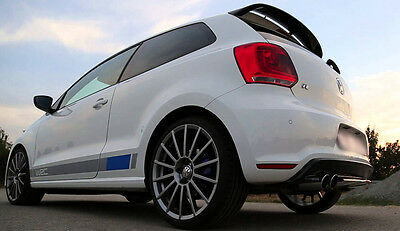VW POLO MK5 6R SPOILER ( from 2009 ) POLO R WRC LOOK