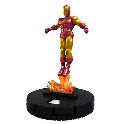 Marvel HeroClix • The Invincible Iron Man: #001a Iron Man (Common)