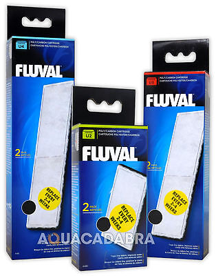 Fluval U Internal Filter Poly/carbon Media Replacement Cartridge Fish Tank