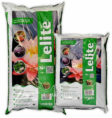 Velda Lelite Water Lily Soil Aquatic Compost Pond Plant Substrate Garden Water