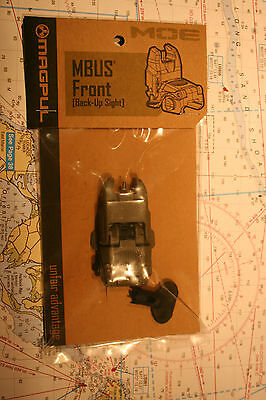 Magpul Mbus Front Back Up Sight, Fol, New In The Box #mag247-Fol