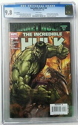 Incredible Hulk #100 Variant Cgc 9.8 Nm/mt