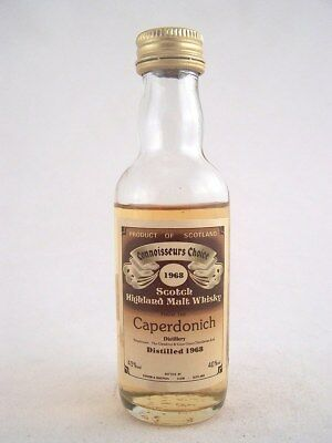 Miniature dated 1968 CAPERDONICH MALT WHISKY Isle of Wine
