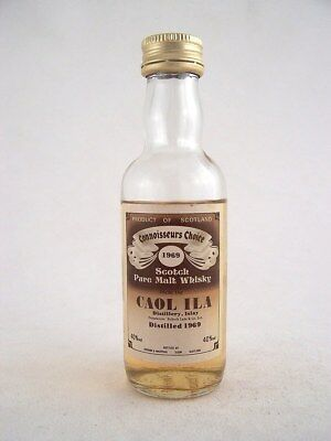 Miniature dated 1969 CAOL ILA MALT WHISKY Isle of Wine