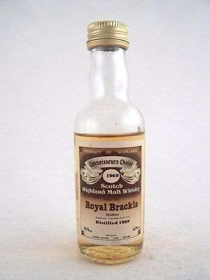 Miniature dated 1969 ROYAL BRACKLA MALT WHISKY Isle of Wine