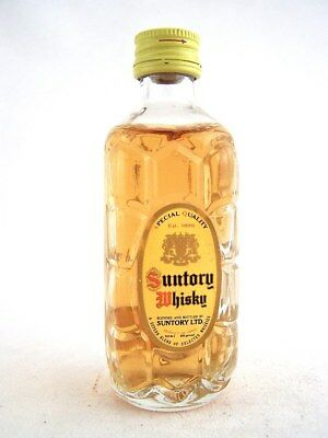Miniature circa 1986 SUNTORY WHISKY Isle of Wine