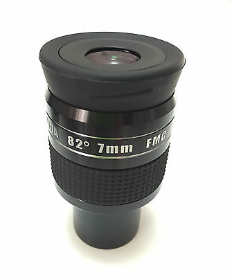 "EX William Optics 1.25"" 82 degrees UWA eyepiece for telescope - 7mm Ultra Wide"
