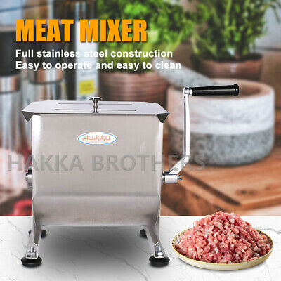 Hakka 20 Pound/ 10 Liter Capacity Tank Commercial Manual Meat Mixers  FMM01
