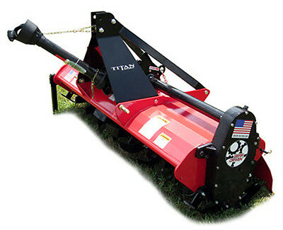 4 ft Titan 3pt Tiller Gear Driven -Shipping as low as .20/mile