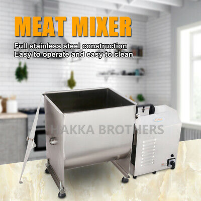 Hakka 40 Pound/20 Liter Capacity Tank Commercial Electric Meat Mixer&Motor