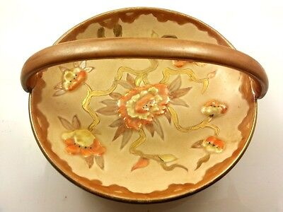 "Wood & Sons "" Sweets Bowl with handle "" Burslem England - 1487 F"