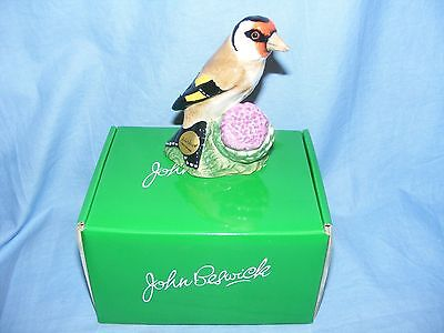 John Beswick Bird Goldfinch JBB27 Collectable Ornament Present Gift Birthday NEW