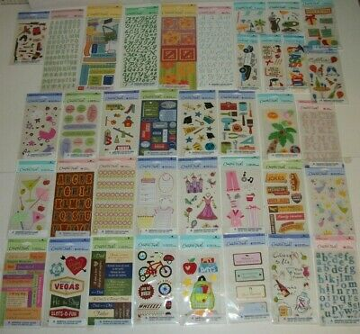 Lot #1 of 40 Packs AMERICAN GREETINGS Creative Touch SCRAPBOOK Stickers