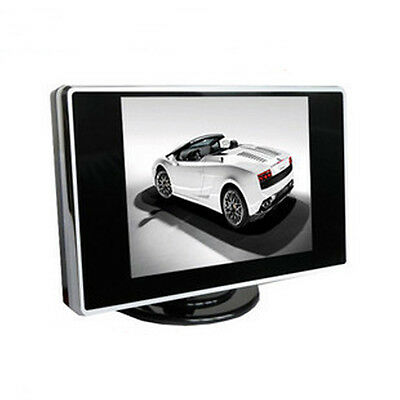 3.5 inch TFT LCD Color Screen AV input Car Rearview Monitor DVD VCR