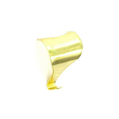 50mm Brass Moulding Hanging Hooks - For Pictures, Frames, Mirrors - Pack of 10