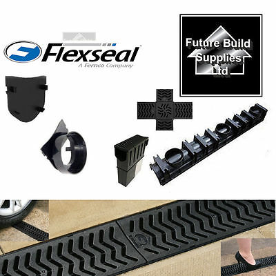 Drainage Channel Fernco Heelguard 1m Lengths Storm Channel Various Quantities!!