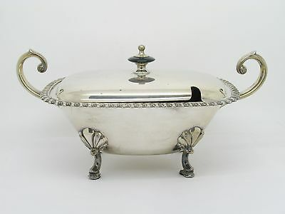 Silverplate Covered Serving Bowl