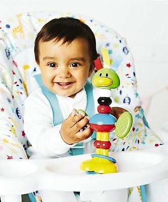 ELC Rattle Bendy Bird Children Baby Kids Toddler Teething Toy 6 Month+ Multi