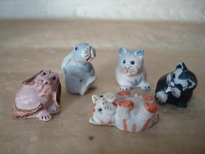 Peter Fagin Collection Of Dogs Cats And Rabbit From The 80's