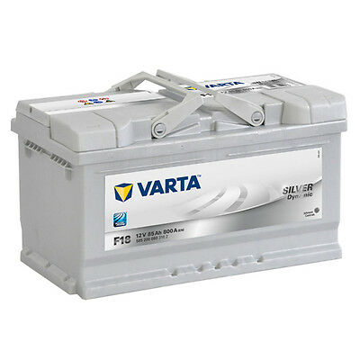 Varta F18 Car Battery 85ah 800cca 12v - 5 Yr Warranty