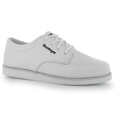 Slazenger Bowls Supportive Collar Shoes Lace Up Gents Mens